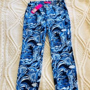 Lilly Pulitzer blue pants